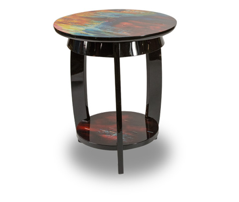 Image of Illusions Round Chair Side Table