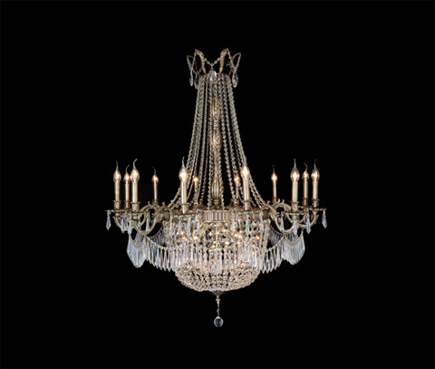 Michael Amini - Summer Palace 30 Light Chandelier - LT-CH906-30ABR