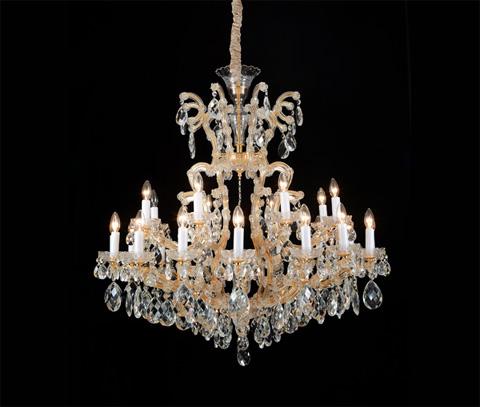Michael Amini - La Scala 19 Light Chandelier - LT-CH912-19CGN