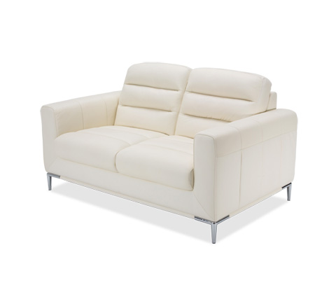 Image of Elena Leather Loveseat