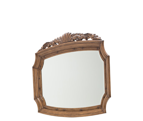 Image of Excursions Sideboard Mirror in Caramel Cashmere