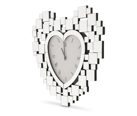 Image of Montreal Heart Shaped Clock