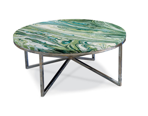 Alden Parkes - Graffiti Cocktail Table - ACCT-GRAFF