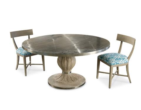 Alden Parkes - Lyons Pedestal Dining Table - DRTB-LYONS