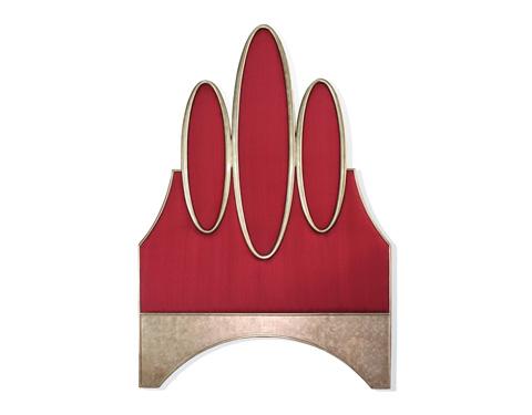 Alden Parkes - Ovals Queen Headboard - BRHQ-OVALS
