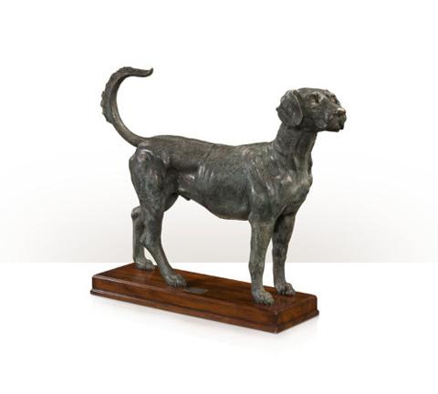 Theodore Alexander - Forager the Foxhound Statue - AL10004