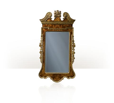 Theodore Alexander - Suede Gilt Mirror - AL31029