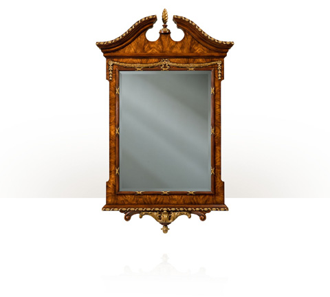 Image of The India Silk Bedroom Mirror