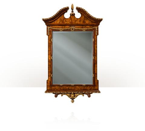 Theodore Alexander - The India Silk Bedroom Mirror - AL31038