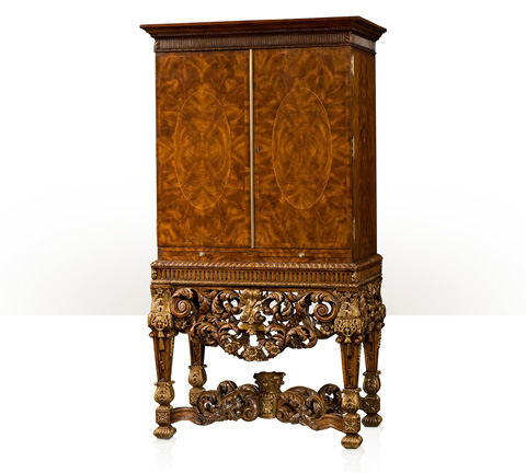 Theodore Alexander - Country House Cocktail Cabinet - AL61026