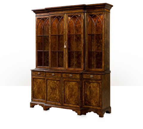 Image of Gothic Arches China Cabinet