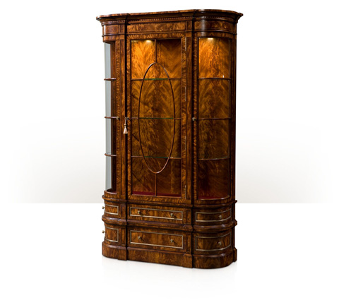 Theodore Alexander - Gothic Library Display Cabinet - AL61077