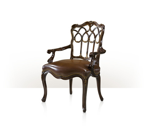 Theodore Alexander - The Gothic Library Arm Chair - AL41039