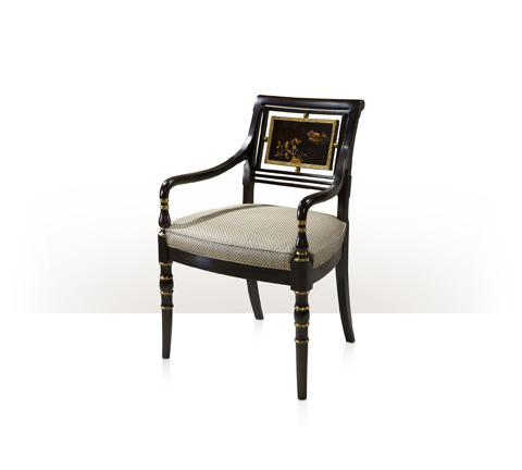Theodore Alexander - Library Open Arm Chair - AL41058