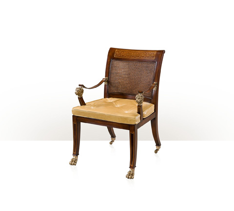 Theodore Alexander - Sabre Leg Pawfoot Occasional Chair - AL41068