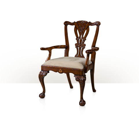 Theodore Alexander - Crested Arm Chair - AL41077