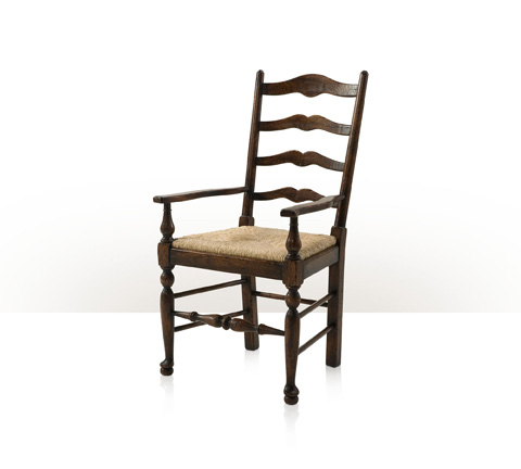 Theodore Alexander - Victory Oak Ladderback Arm Chair - AL41081