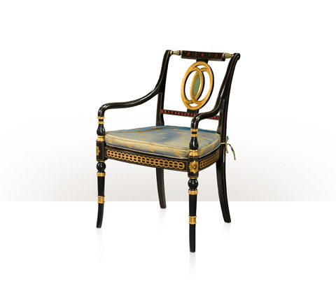 Theodore Alexander - Coronet Arm Chair - AL41801