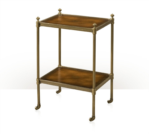 Theodore Alexander - The Library Brass Side Table - AL50030
