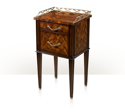 Theodore Alexander - The Admiralty Bedside Lamp Table - AL50038