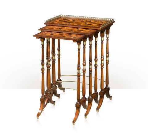 Theodore Alexander - The South Drawing Room Parquetry Tables - AL50044