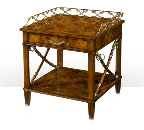 Theodore Alexander - Duel End Table - AL50058