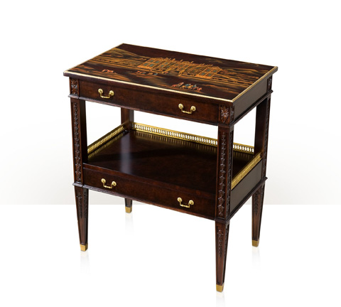 Theodore Alexander - Bellflowers at Althorp Lamp Table - AL50112