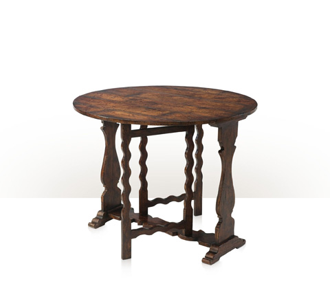 Theodore Alexander - Victory Oak Gateleg Table - AL50154