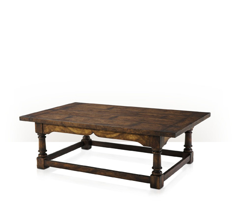 Theodore Alexander - Victory Oak Cocktail Table - AL51041