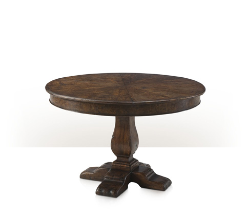 Theodore Alexander - Victory Oak Jupe Dining Table - AL54037