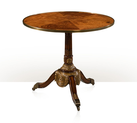 Theodore Alexander - Carved Drapery Centre Table - AL55002