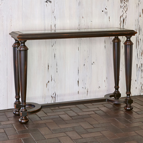 Image of Scrolling Gate Console Table