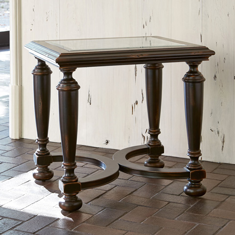 Image of Scrolling Gate End Table