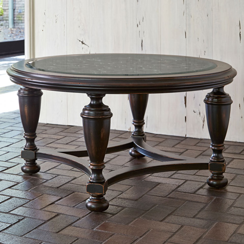 Ambella Home Collection - Scrolling Gate Cocktail Table - 02197-920-001