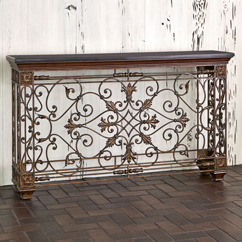 Image of Rockefeller Console Sofa Table