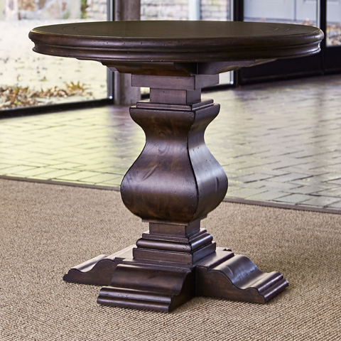 Ambella Home Collection - Aspen Round End Table - 00270-900-002
