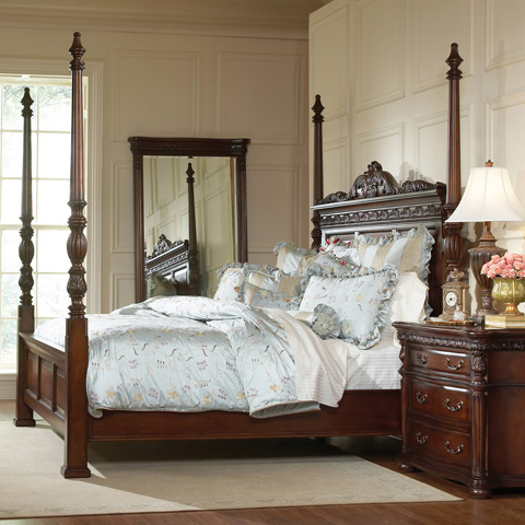 Ambella Home Collection - Nathaniel King Bed - 00971-200-091