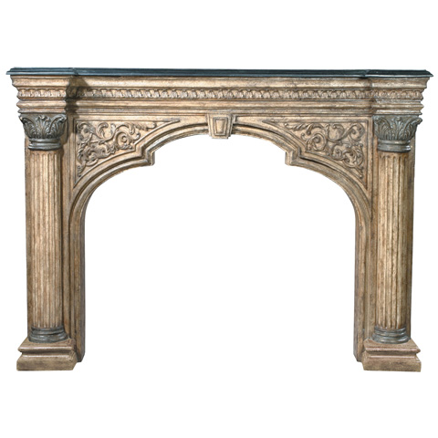 Ambella Home Collection - Arch Fireplace Surround Décor - 01168-420-074