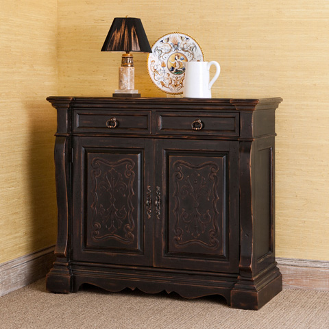 Ambella Home Collection - Aspen Scrolled Sideboard - 02210-630-001