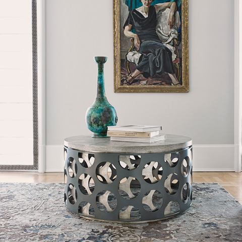 Ambella Home Collection - Screen Cocktail Table - 02295-920-001