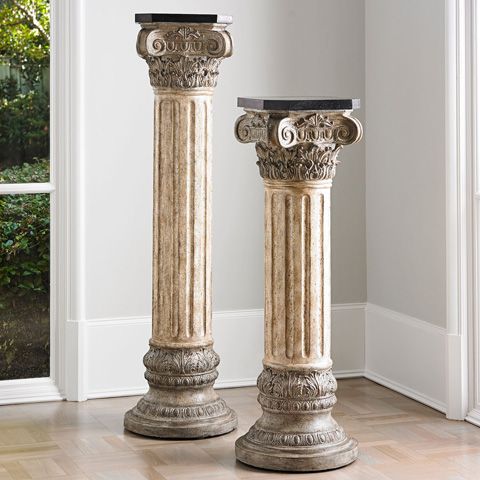 Ambella Home Collection - Corinthian Majesty Pedestal-Small - 03031-870-148