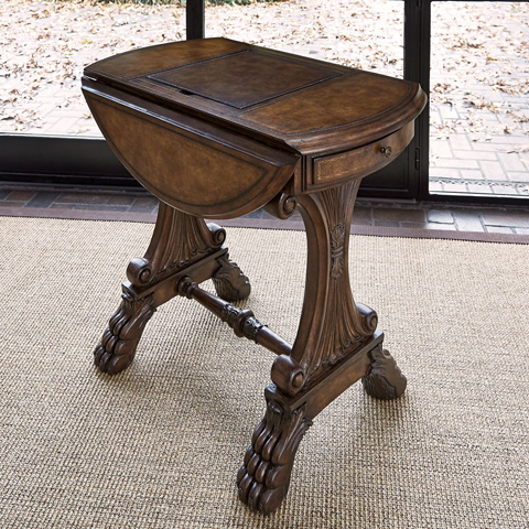 Ambella Home Collection - Drop Leaf Game Table - 03035-930-002