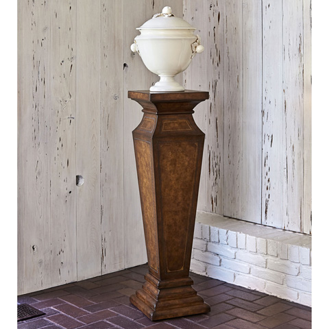 Ambella Home Collection - Leather Pedestal - 05000-870-042