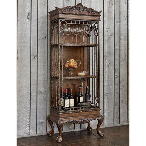 Ambella Home Collection - Intrigue Bookcase - 05086-800-001
