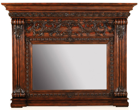Ambella Home Collection - Casa Bella Fireplace Mirror - 06555-440-283