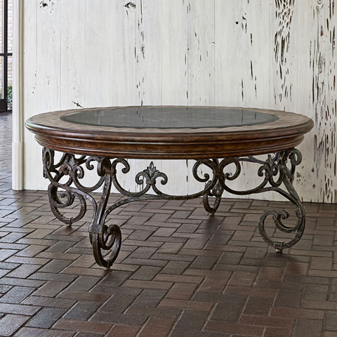 Ambella Home Collection - Montego Round Cocktail Table - 06668-920-003