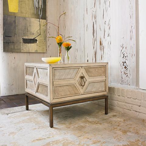 Ambella Home Collection - Diamond Side Table - 06806-900-001