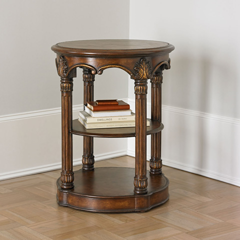 Ambella Home Collection - Column Accent Table - 07059-900-002