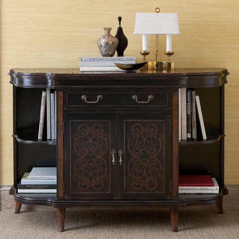 Ambella Home Collection - Noire Side Cabinet - 07183-820-002