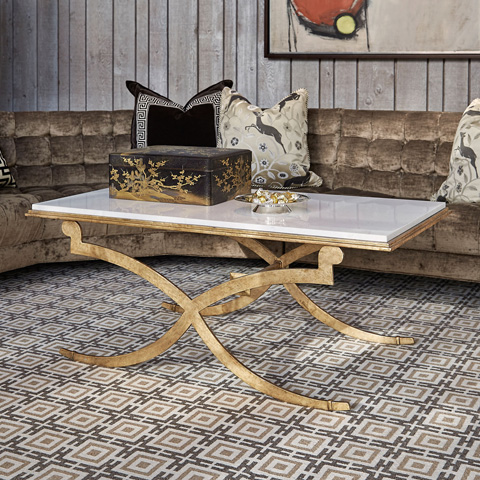 Ambella Home Collection - Belle Cocktail Table - 09113-920-001